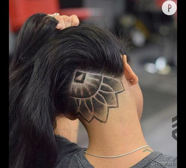 coupe cheveux long rase derriere