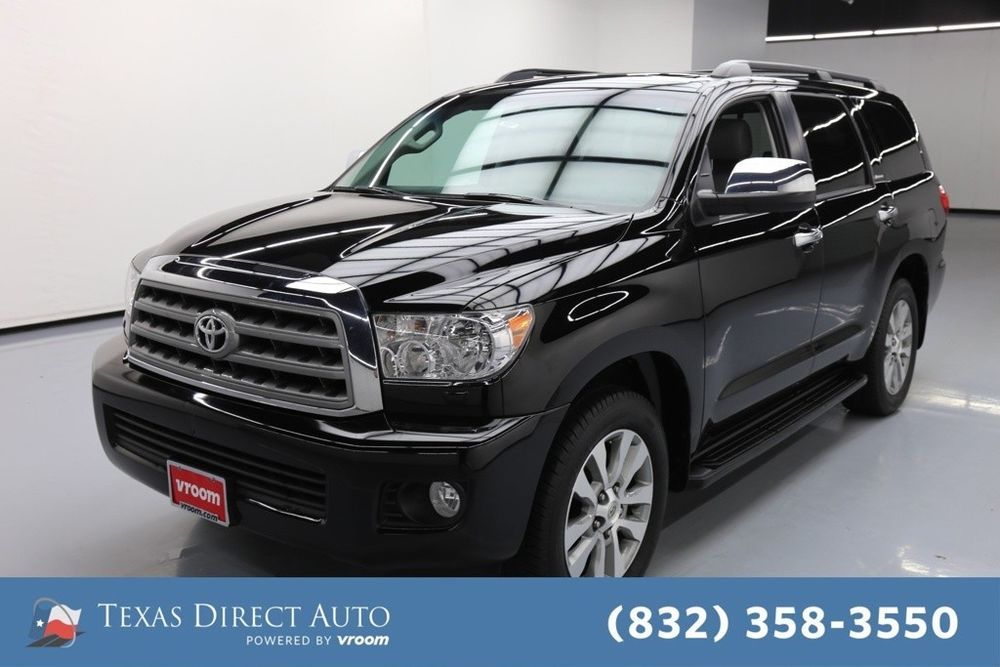 For Sale 2015 Toyota Sequoia Limited Texas Direct Auto