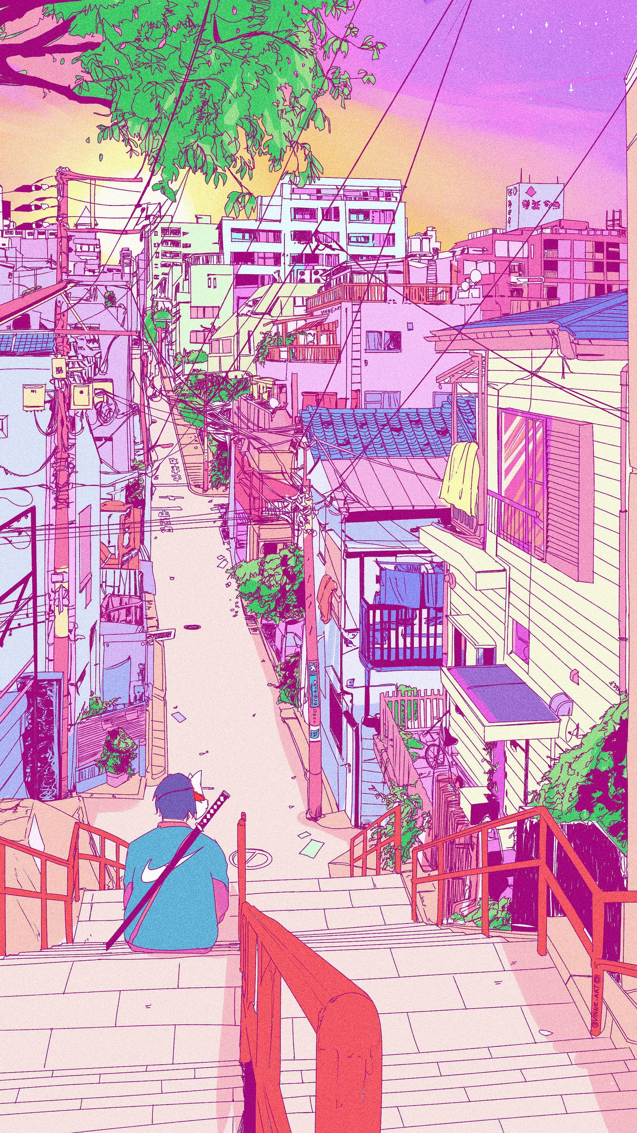 Kimi No Na Wa Your Name Scenery Wallpaper Anime Scenery Wallpaper Aesthetic Wallpapers