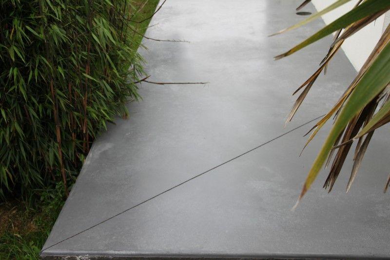 terrasse b ton cir terrasse pergola terrasse beton. Black Bedroom Furniture Sets. Home Design Ideas