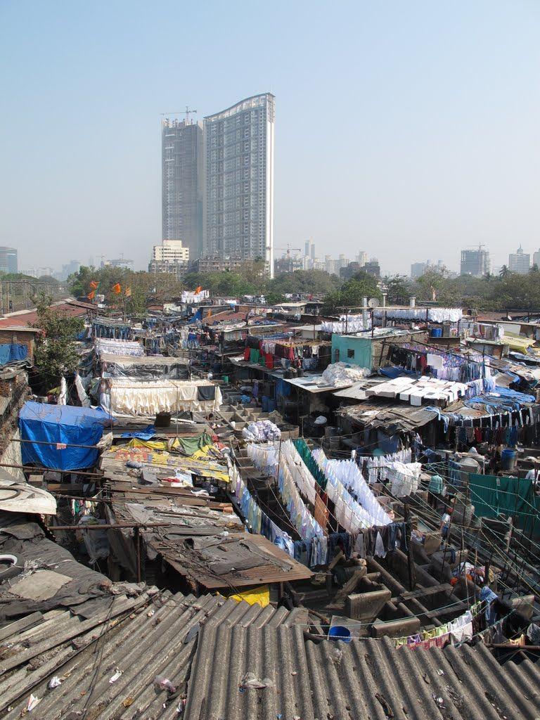Dhobi ghat the slum next door to the world trade center in mumbai dhobi ghat the slum next door to the world trade center in mumbai google gumiabroncs Image collections