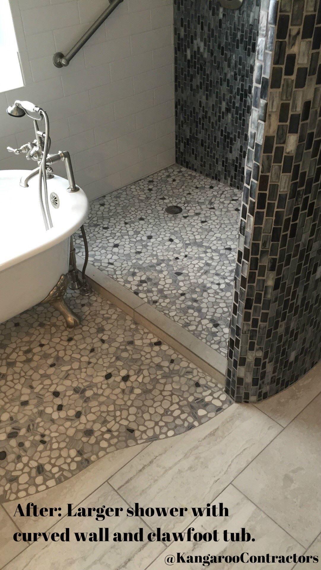 Bathroom Remodel In Dallas Tx Tile Work New Mosaic Modern