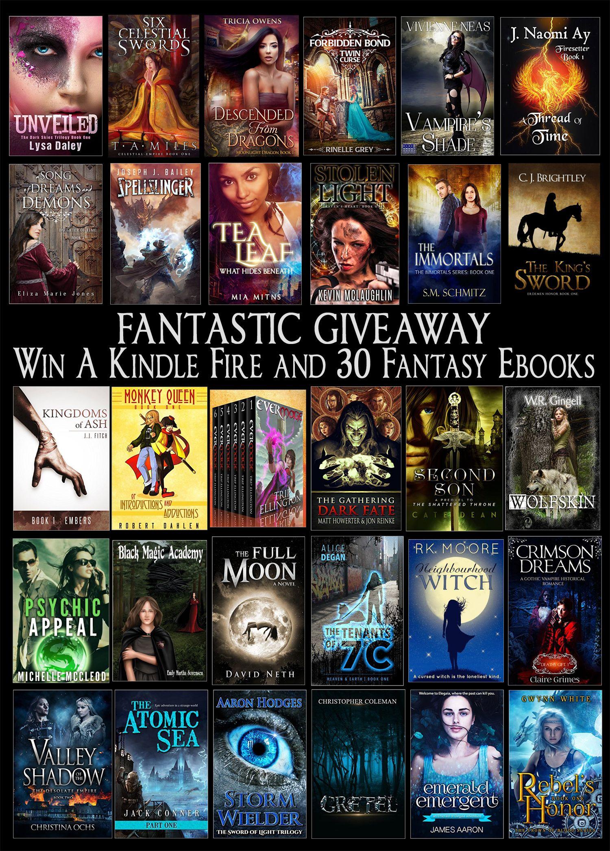 Win a Kindle Fire and 30 Fantasy Ebooks!