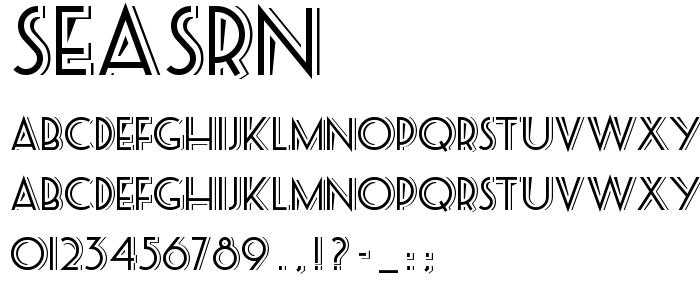Download SEASRN__.TTF font | Ttf fonts, Free fonts download, Fonts