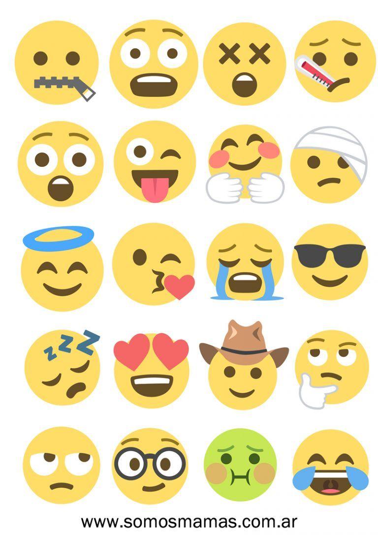 Imagenes De Emojis Para Imprimir Jugar Y Decorar Emoticones Imagenes De Emojis Imagenes De Emoji Emojis