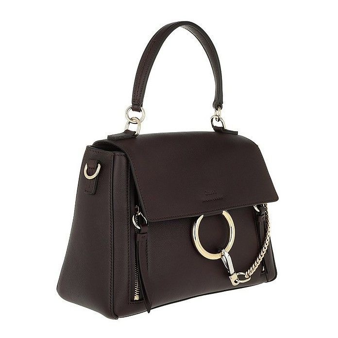 bbf76117dd72 Chloe Faye Day Small Carbon Brown at FORZIERI