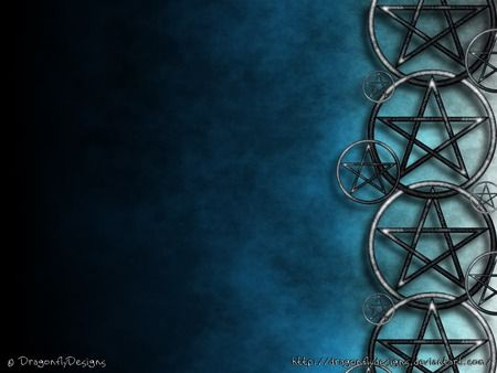 Metal Pentacale Wallpaper Desktop Nexus Wallpapers Wiccan Wallpaper Pentacle Pagan Art