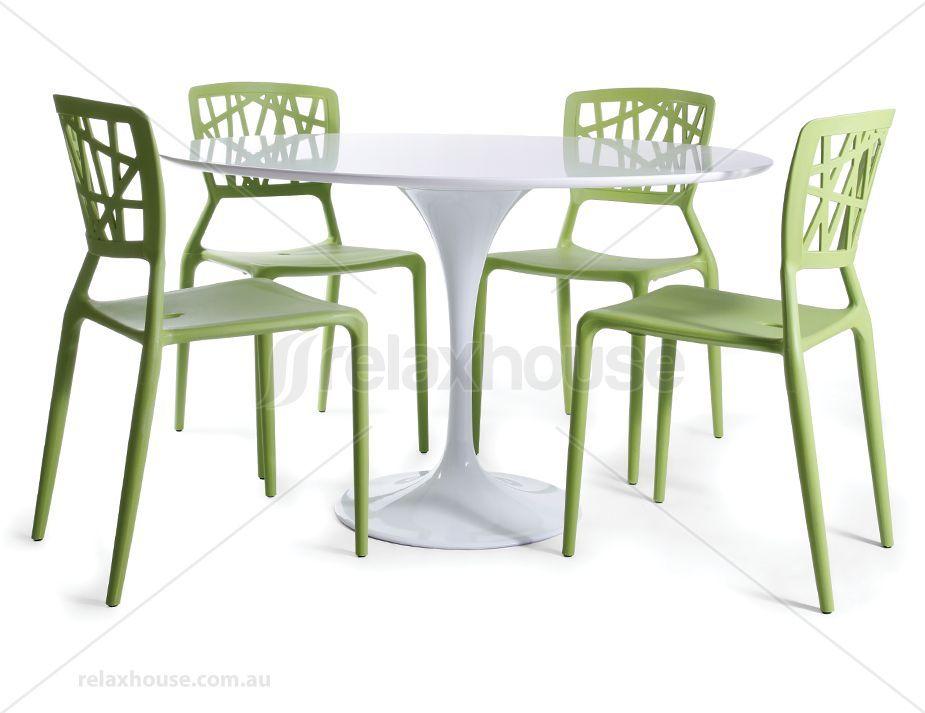 Replica Tulip Table by Eero Saarinen 1200 - White
