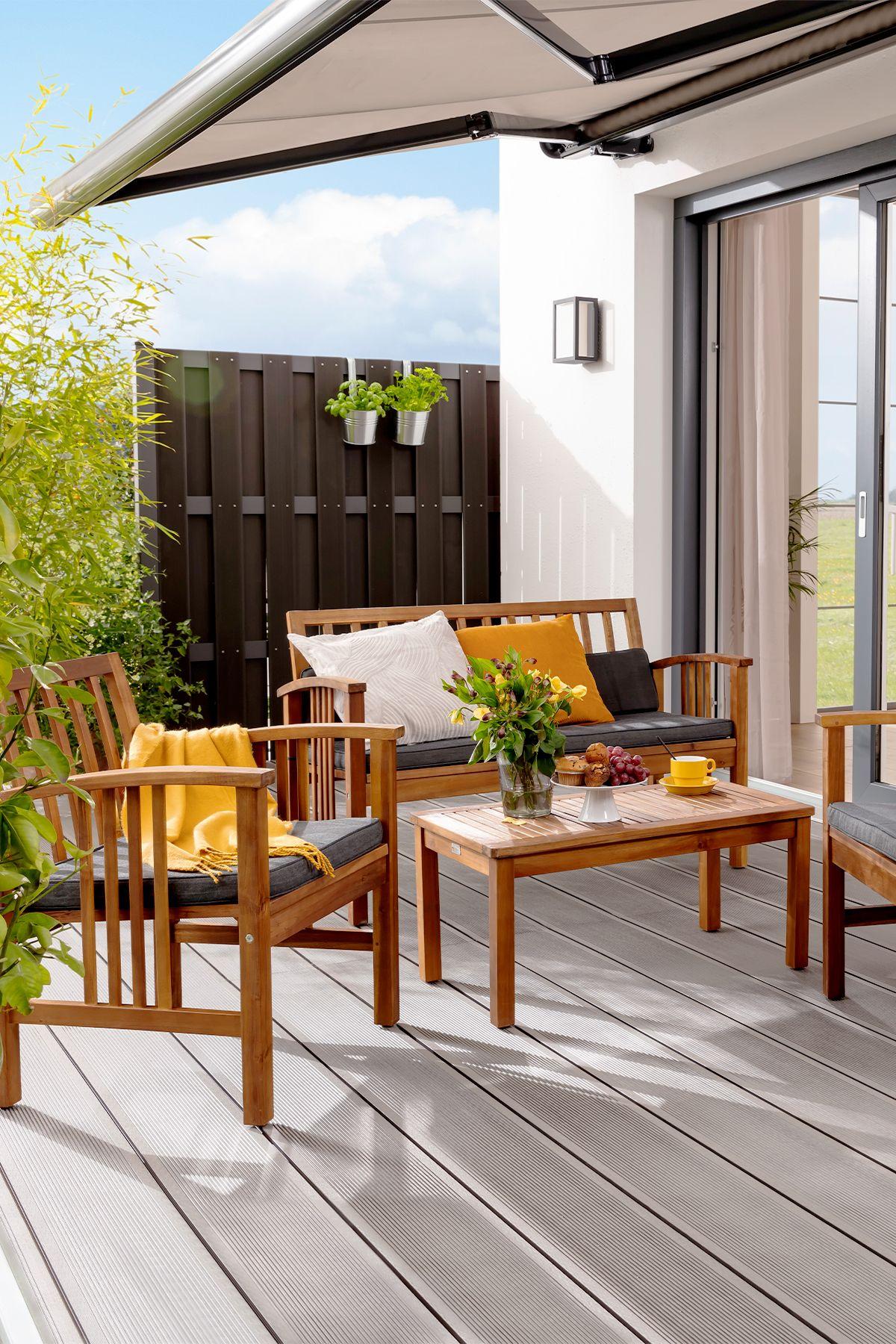 Gartenmobel Im Naturlichen Und Modernen Design Gartenmobel Aussenmobel Modernes Design