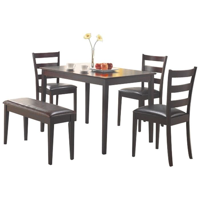 Delightful Wildon Home ® Guilford 5 Piece Dining Set