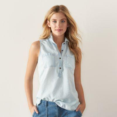 Chambray Shirt - Kohls
