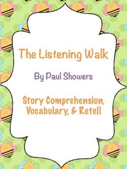 The Listening Walk Sounds Theme Story Comprehension