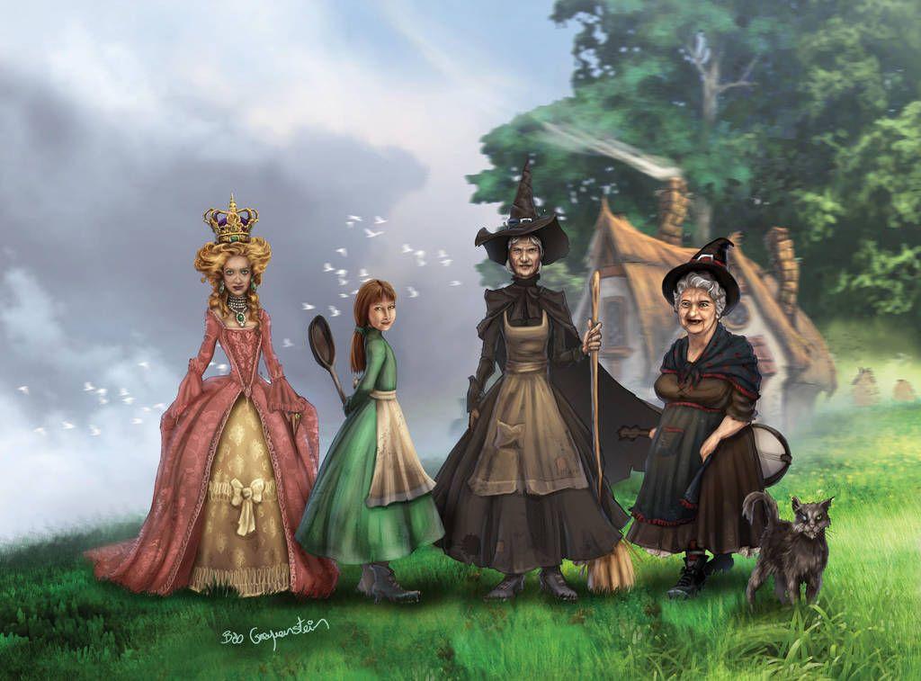 Discworld - Granny Weatherwax by Riana-art on DeviantArt