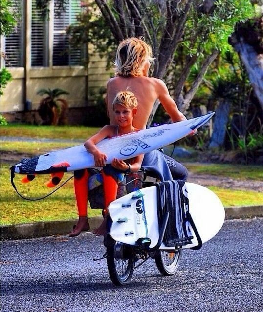 off to the ocean in 2020 Surfer, Surfboard, Surfer girl