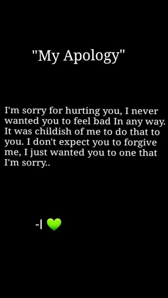 75 Apology Quotes For Her | I am Sorry Messages, Texts for Girlfriend