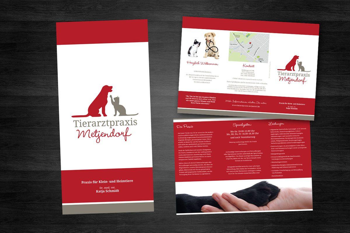 Tierarztpraxis Metjendorf | Designs, Grafik design und Grafiken