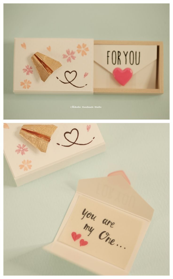 Miniatures matchbox card Valentines Giftcheer up boxFunny Love CardGift for#Christmas#Gifts