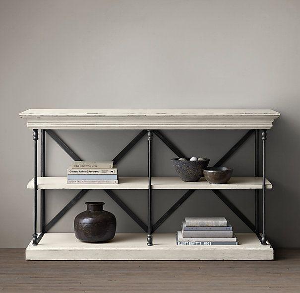 Kitchen Cabinet Cornice: Parisian Cornice Console Table