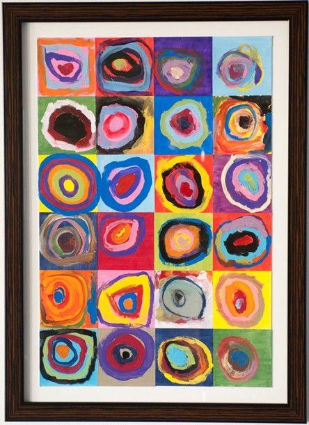 Kindergarten Kandinsky Billedkunst Billeder Ideer