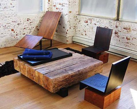 mesa de madera para casas rsticas