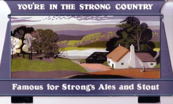 Advertisement for Strong's Ales