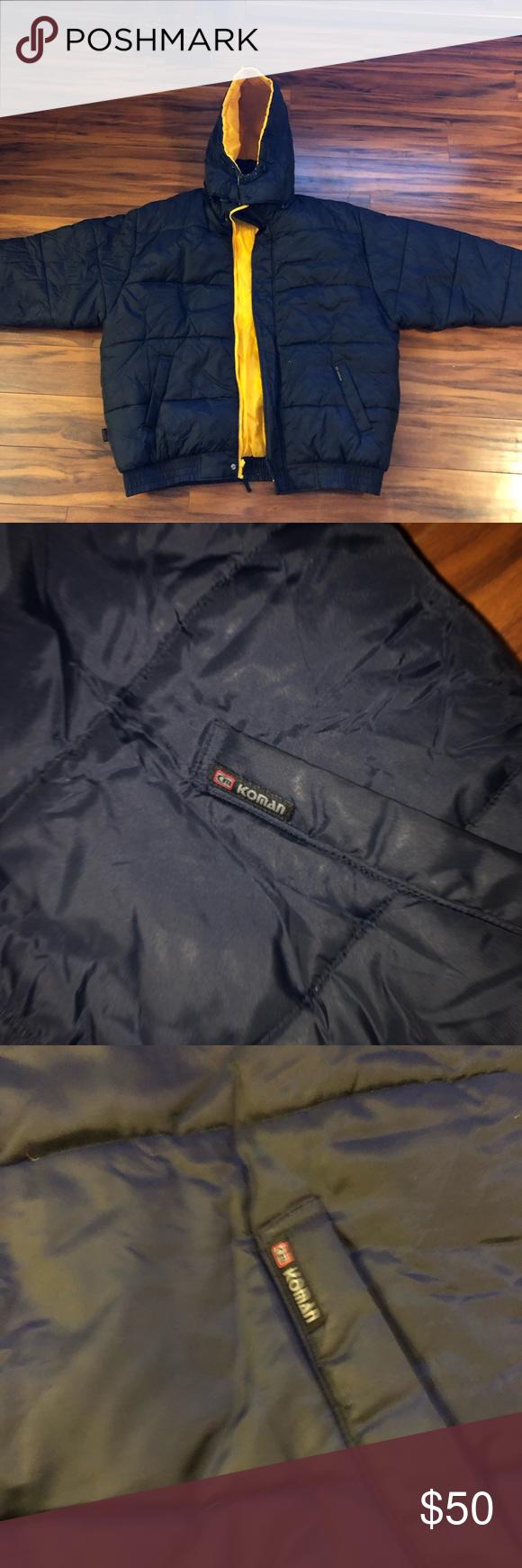 Vintage Koman Sport Puffer Coat 2xl Xxl Reversible Puffer Coat Puffer Vintage [ 1740 x 580 Pixel ]