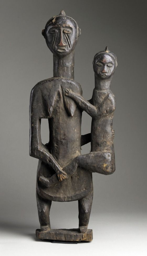 Africa, Democratic Republic of the Congo, Mbala peoples, 20th century Sculpture Wood