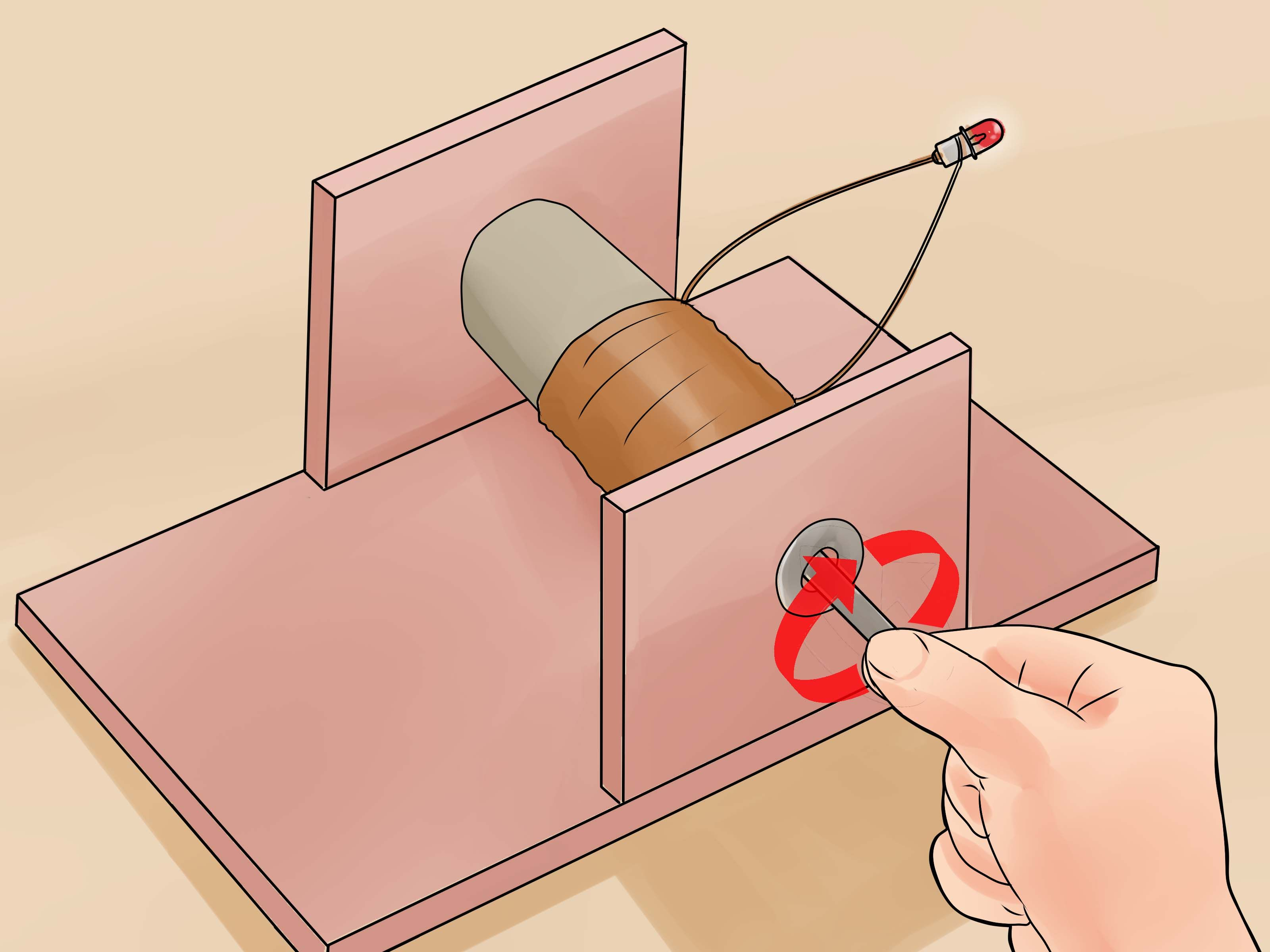 Watch How to Make a Simple Electric Generator video