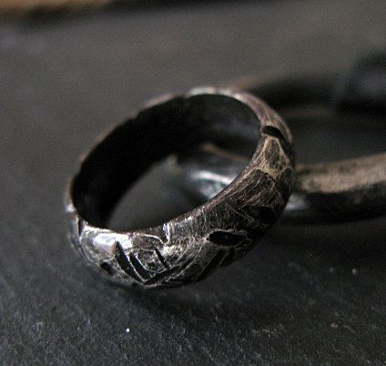 Man Wedding Band Mens Wedding Band Viking Jewelry Viking Wedding