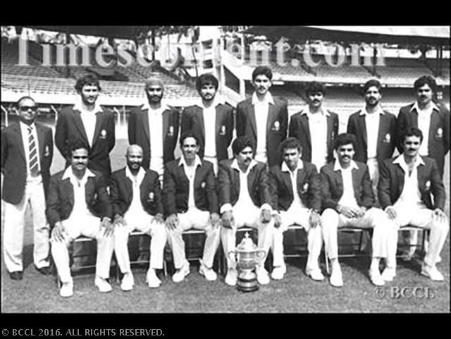 A Tall Order 33 Years Since India S First World Cup Victory Rare Moments The Economic Times World Cup Teams First World Cup World Cup