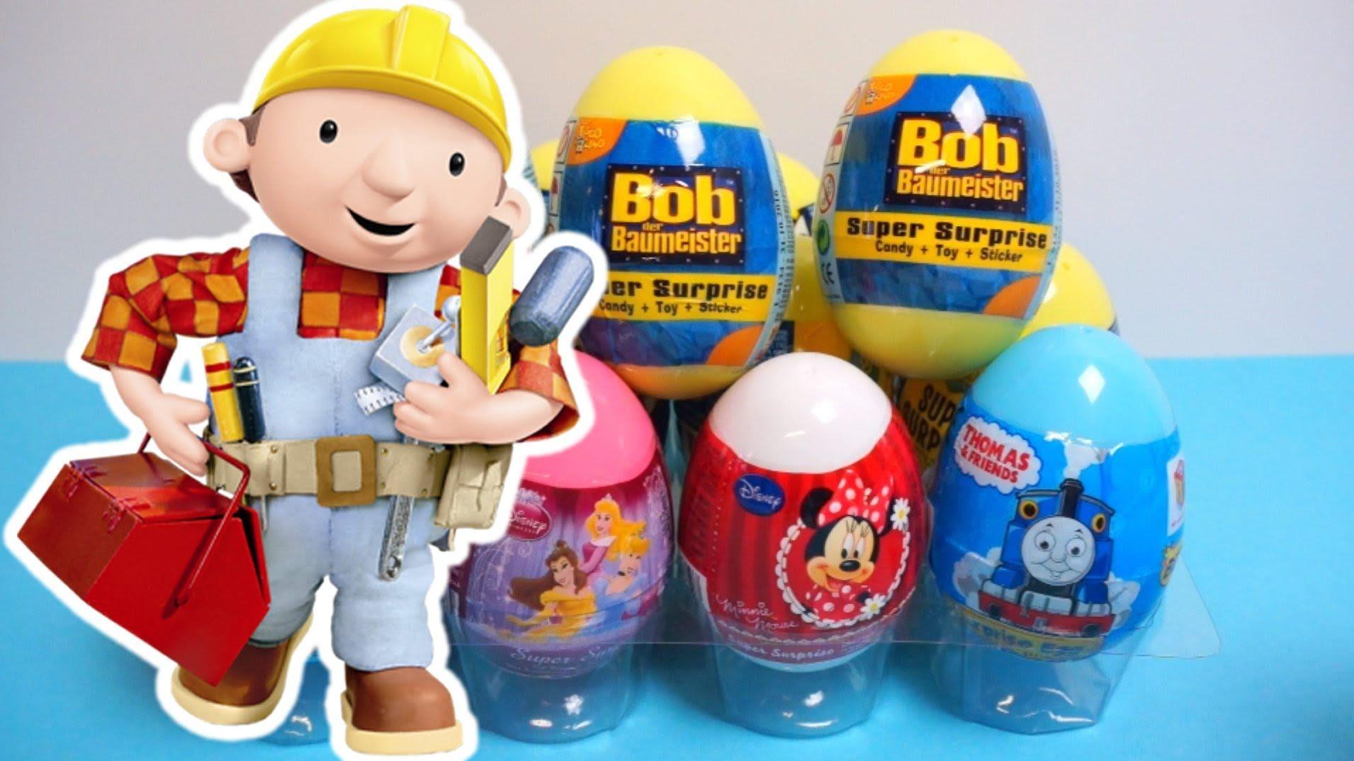 Surprise Eggs For Kinder Surprise Bob The Builder Surprise Egg Bob The Builder Kinder Surprise