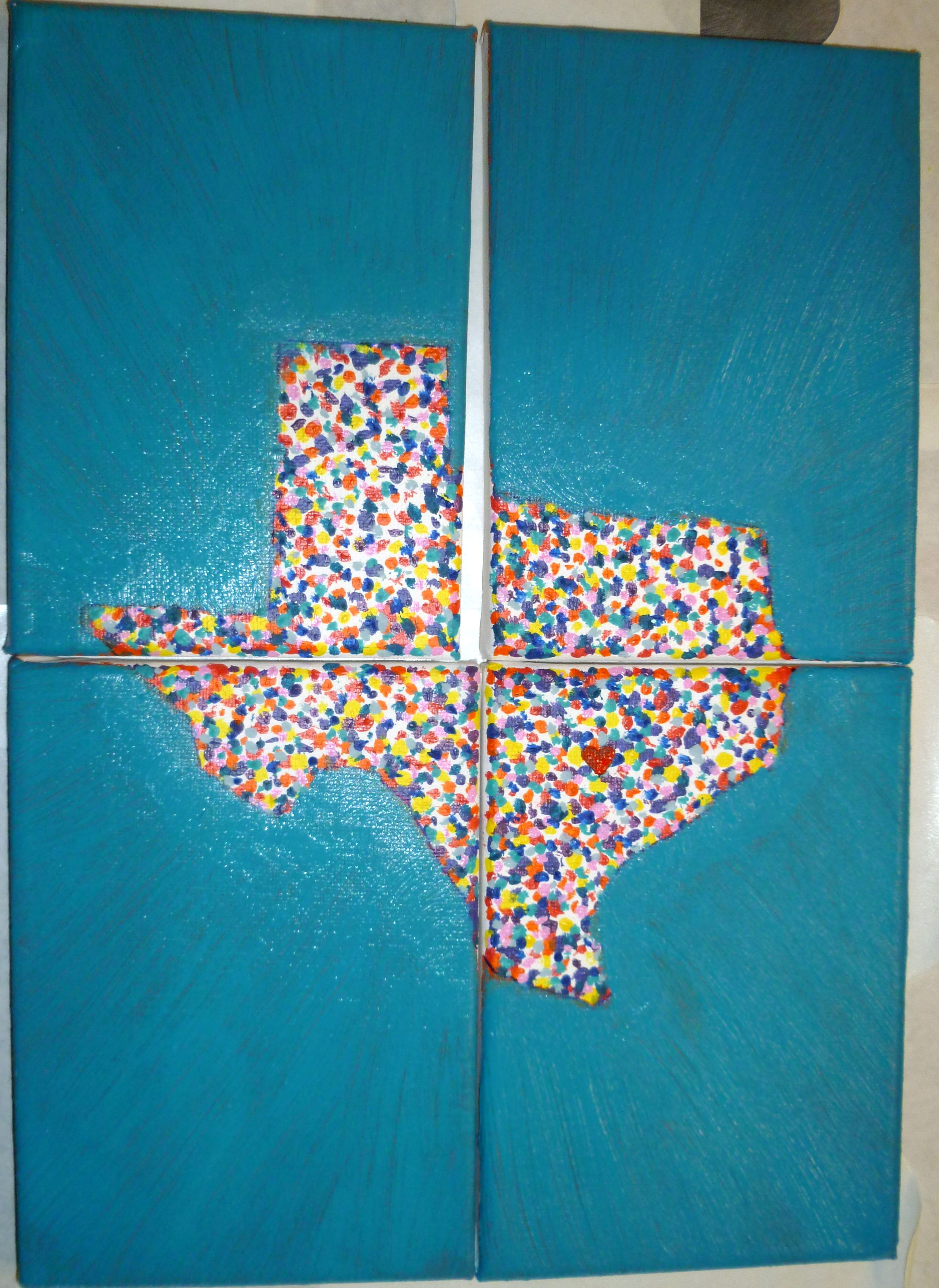 A Dripping Springs, Texas painting.