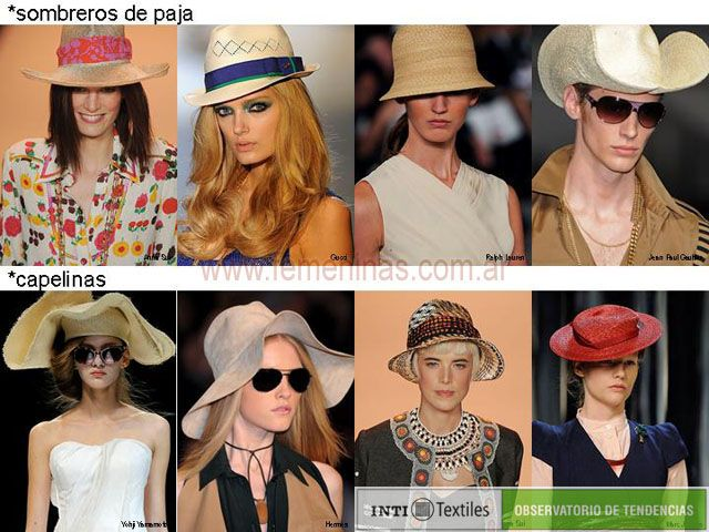 Sombreros de paja y capelinas vuelven a estar de moda esta primavera verano b9e3301247e