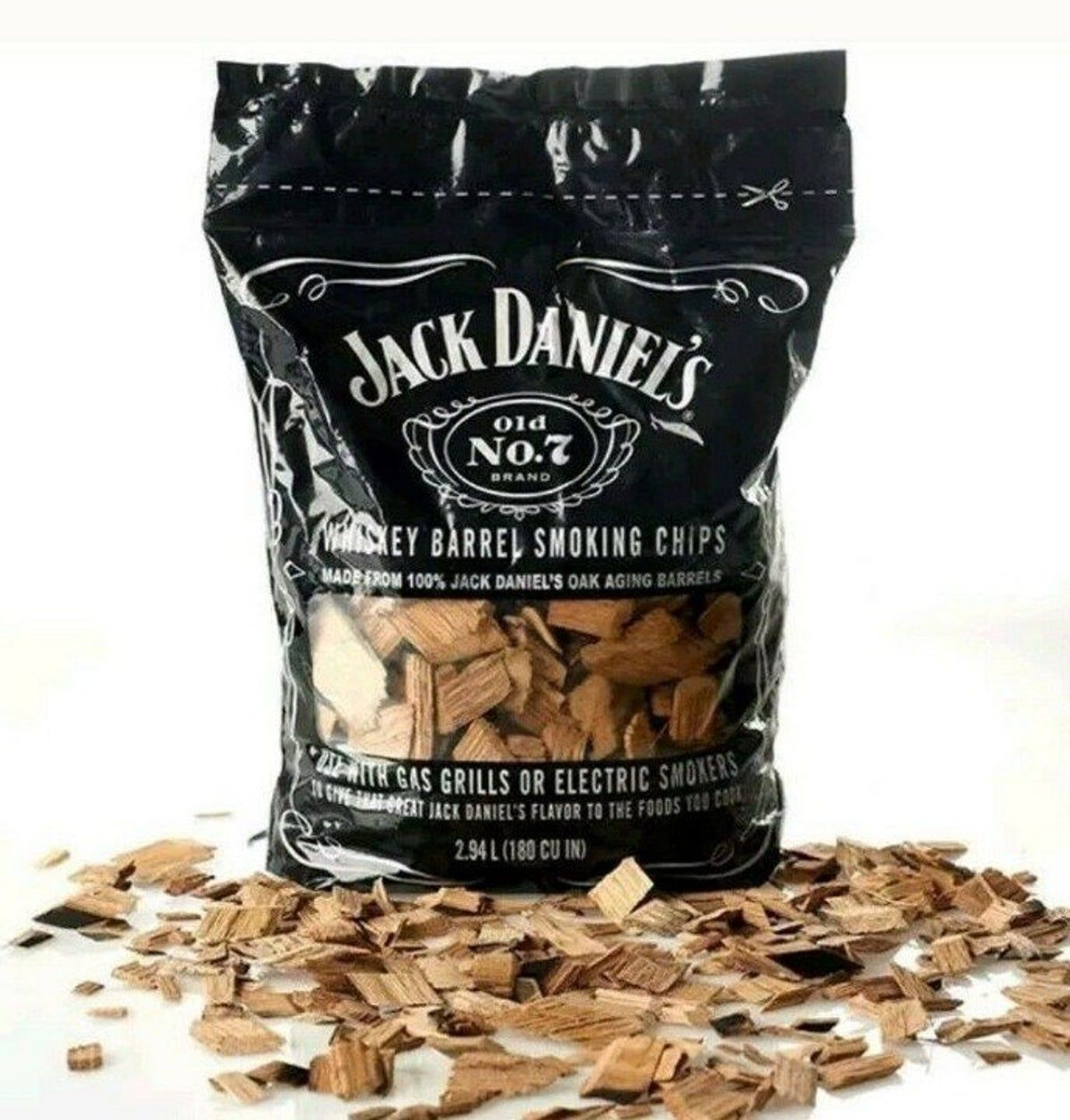 Photo of Jack Daniel Whiskey Barrel Smoking Chips