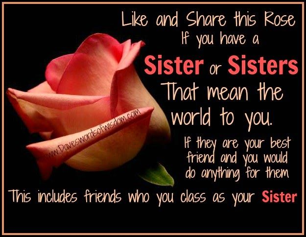 Wisdomtoinspirethesoul.com: Sisters. I do have some amazing sister's if I may say so my self,,,,,,,,,,Theresa,,,Wendy,,Glen,,and Prundence,,,,,no one can take their place in my life,,,,,,,,I am truly Blessed !!!!!!!!!!!!!!!!!!