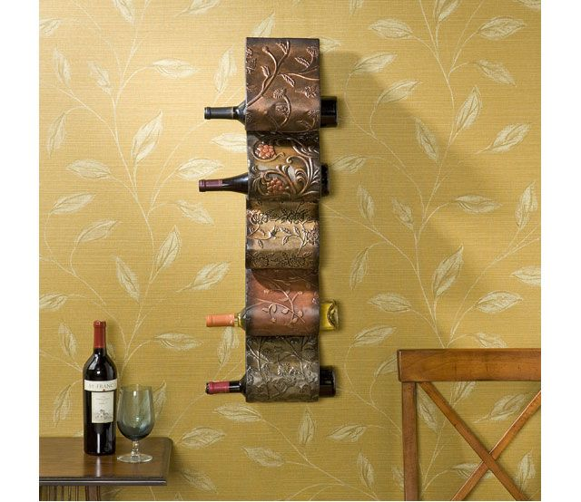 Wall Mount Wine - Dress up your home and your wine collection at the ...
