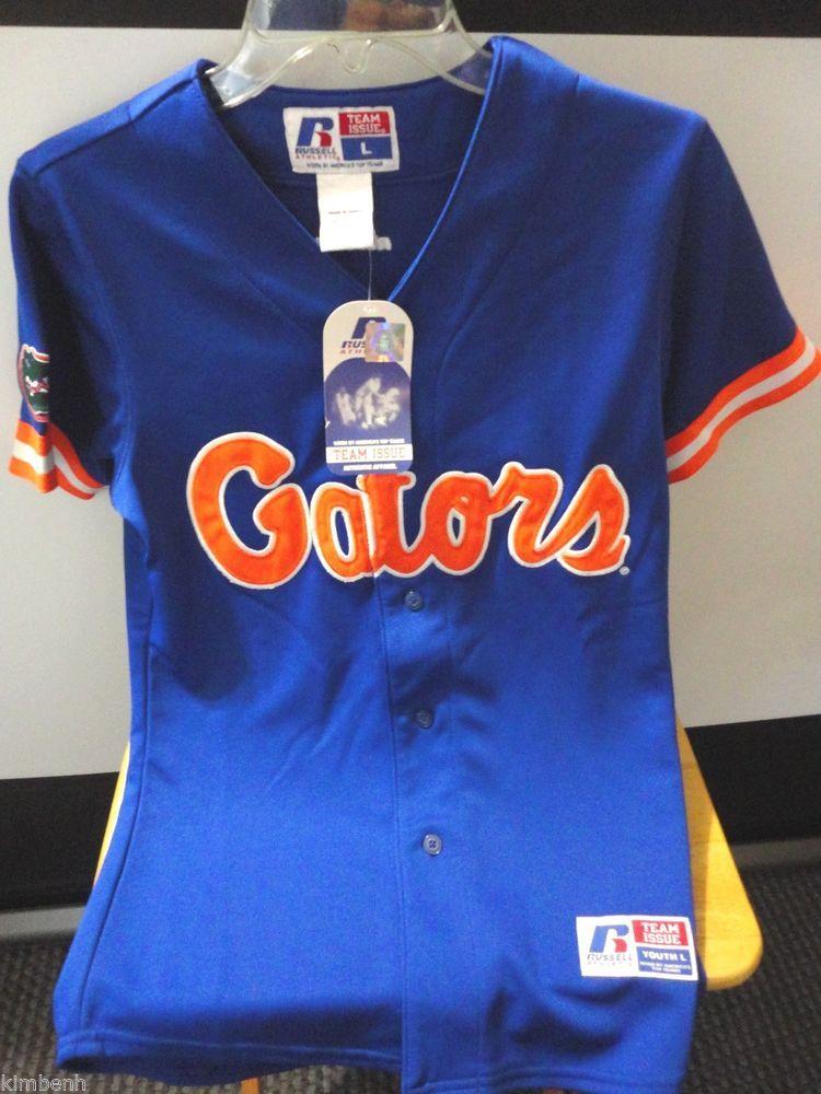online retailer 295b1 c52f4 Russell Florida Gators Replica Baseball Jerseys NCAA Youth ...