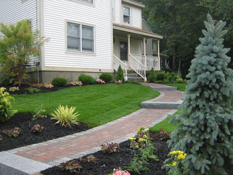 Designer Gardens Londonderry Nh Landscaping Installer Patio Garden Design Paver Walkway Patio
