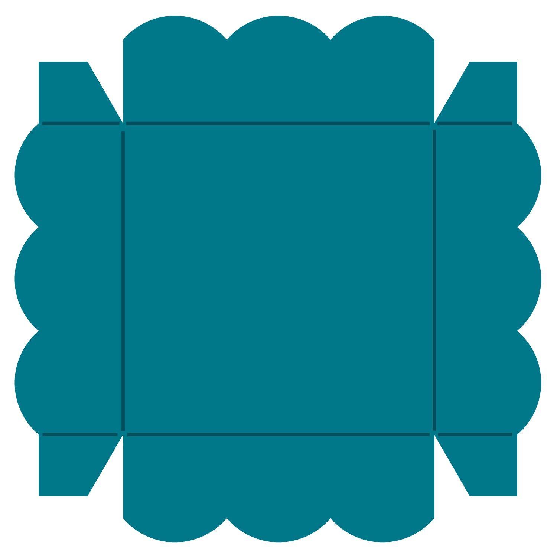 Box #21-Top #2 Steel-Rule Die   AccuCut Craft   Silhouette ...