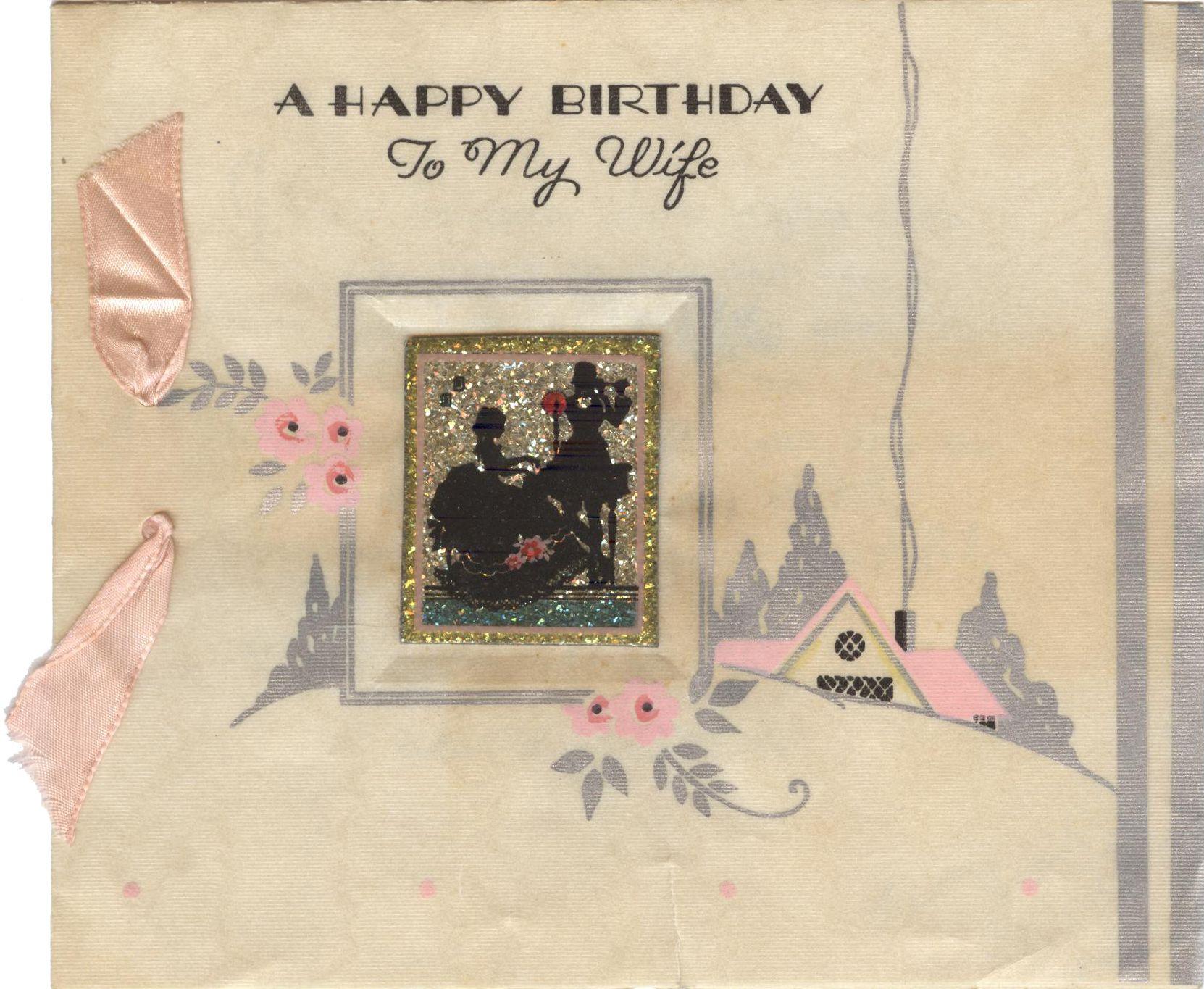 25 b 559 wifes birthday card hallmark greeting cards
