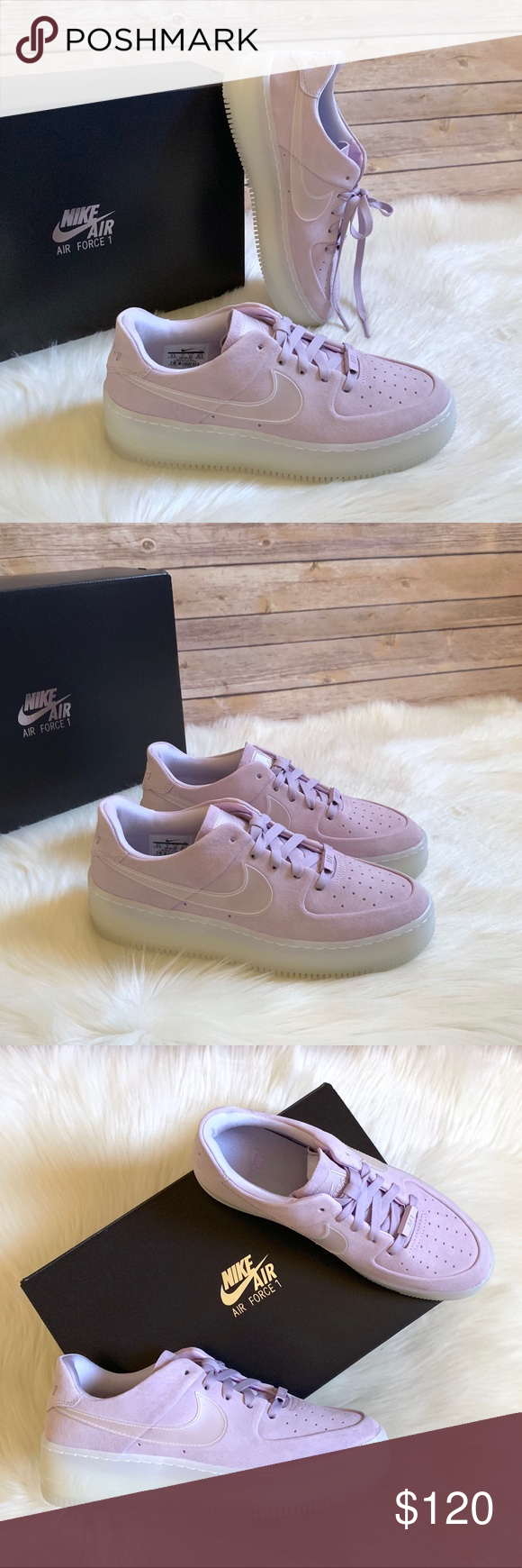 Nike Air Force 1 Sage Low LX In Violet Mist NWT | My Posh