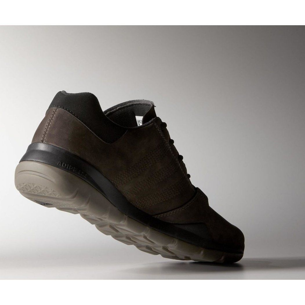 Buty trekkingowe adidas Anzit Dlx M18555 brązowe (With