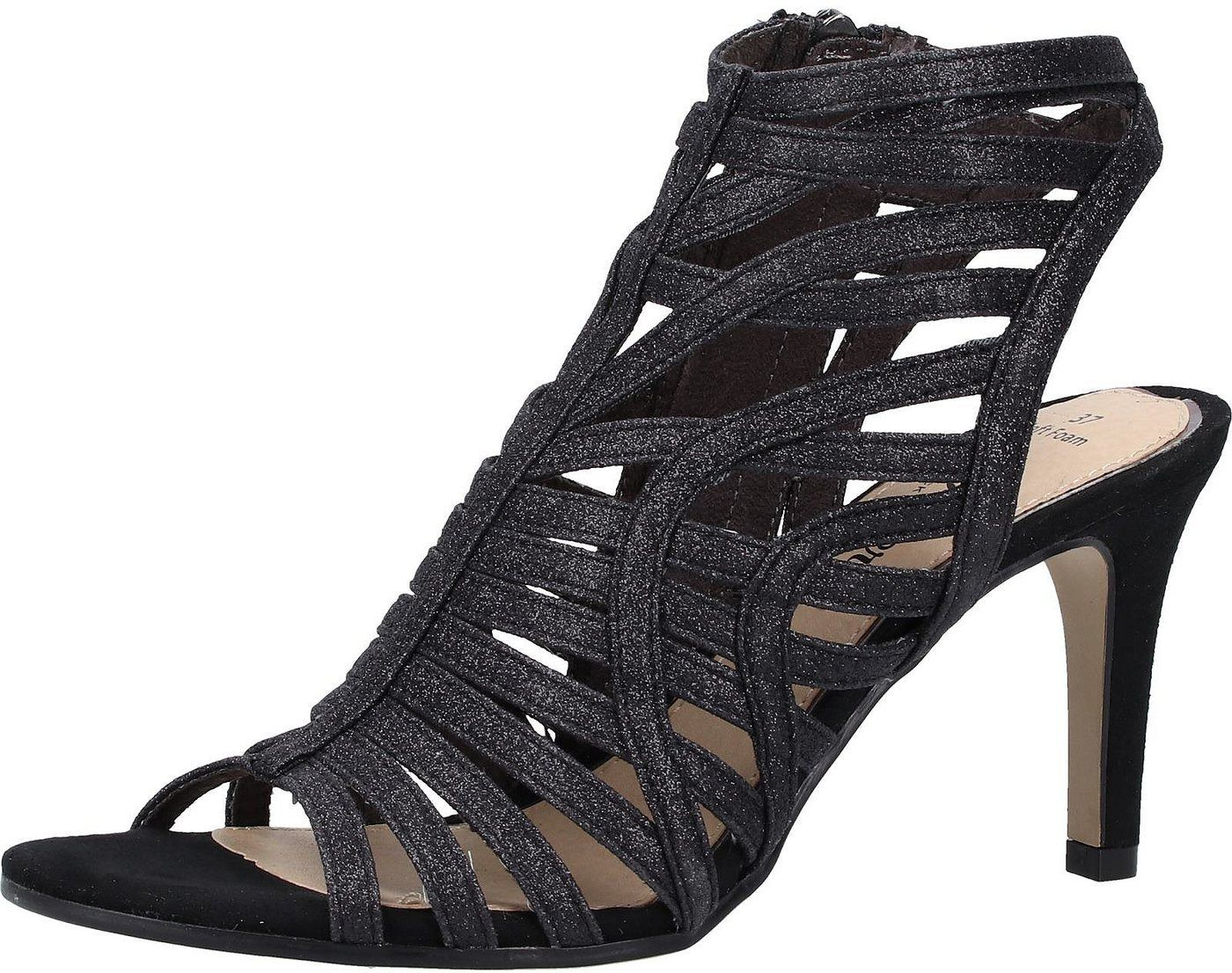 S Oliver Black Label Lederimitat High Heel Sandalette Heels High Heels Peep Toe