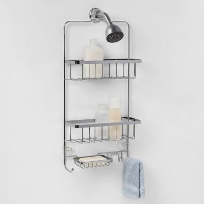 Bathroom Shower Caddy Chrome Made By Design With Images Made By Design Shower Caddy Bathroom Shower