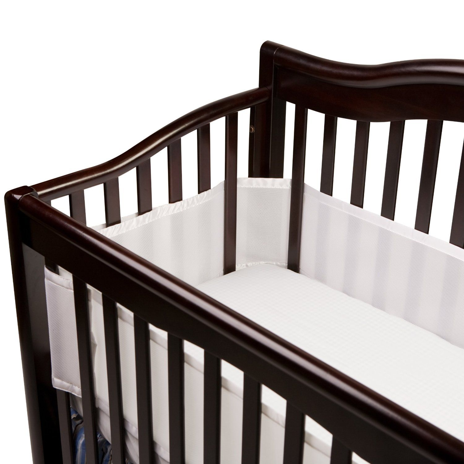 breathable baby universal crib bumper ohh well isnt that a unique