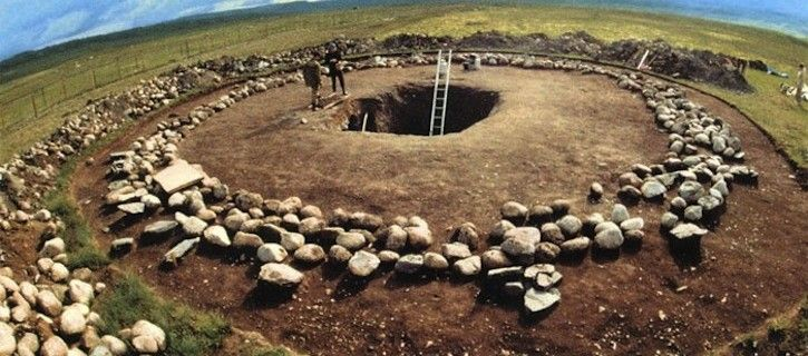 Tomb of the Altai Princess Ukok, a 2.5 thousand year old Russian Princess