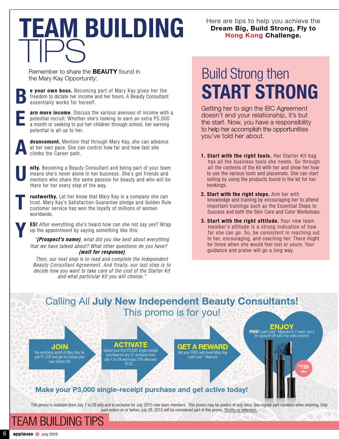 ISSUU - July 2015 Applause Magazine Mary Kay Philippines de