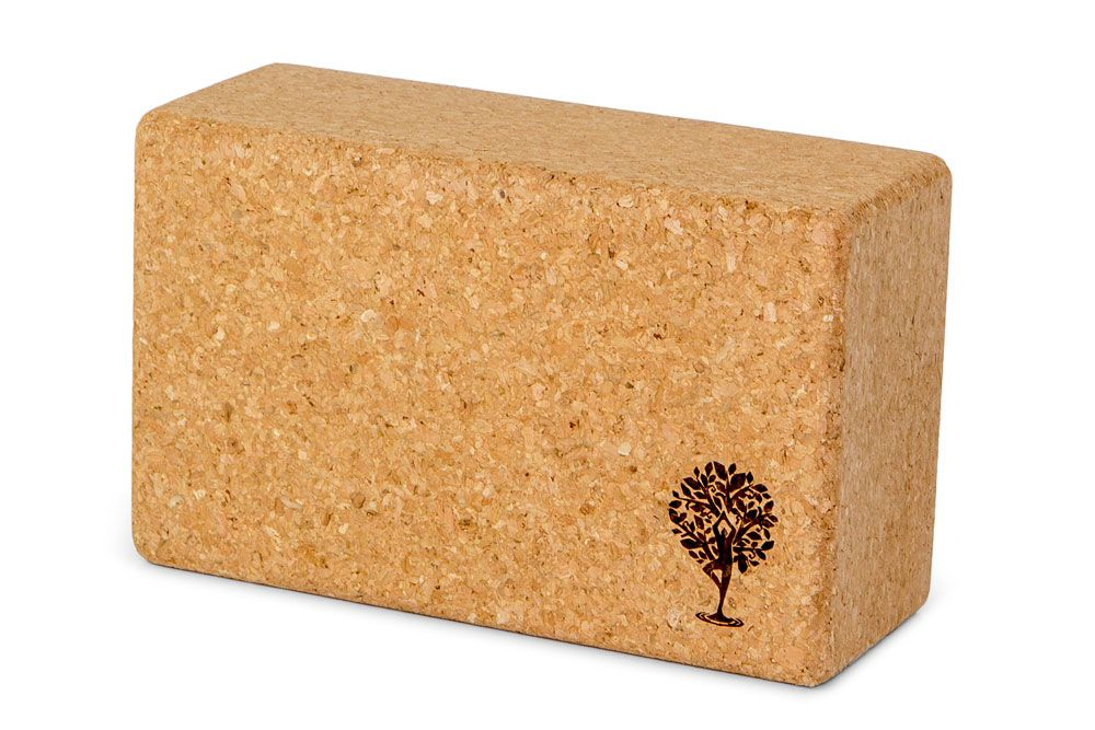 Cork Yoga Blocks.  Can be heavy, but oh so stable! $24