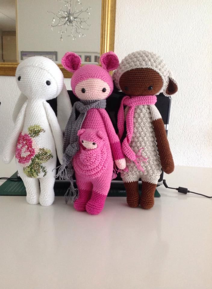 RITA, KIRA & LUPO made by Manuela M. / crochet patterns by ...