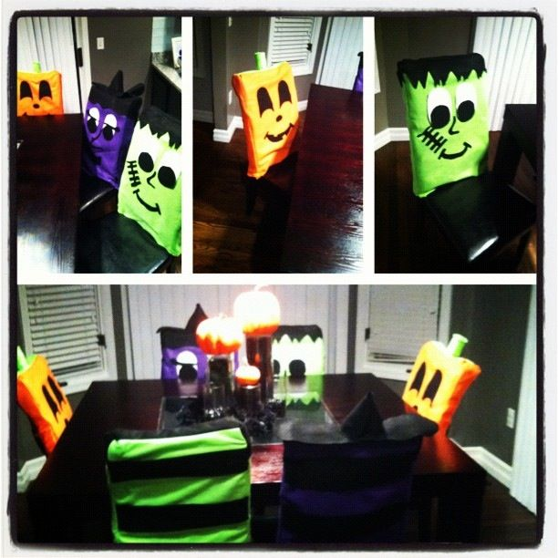 Halloween Chair Covers My Own Creations In 2019